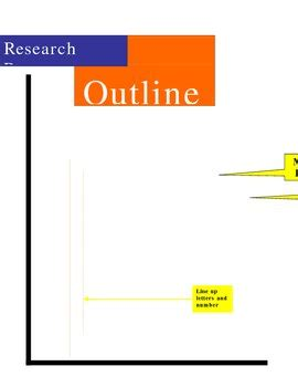 Example of mla research paper with outline
